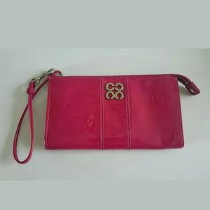 Coach JULIA Pink Patent Leather Wristet